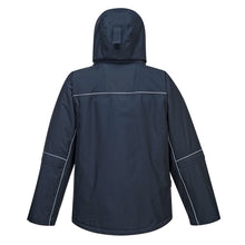 Load image into Gallery viewer, Multi Pocket Reflective Rain Parka