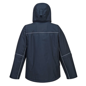 Multi Pocket Reflective Rain Parka
