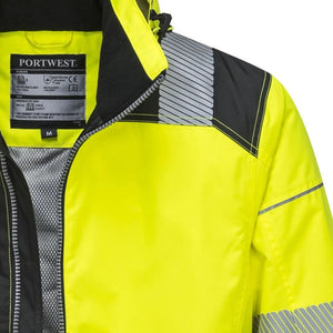 PW3 Hi-Vis Winter Jacket with Reflective Segmented Tape