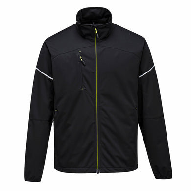 Stylish Black Flex Shell Jacket