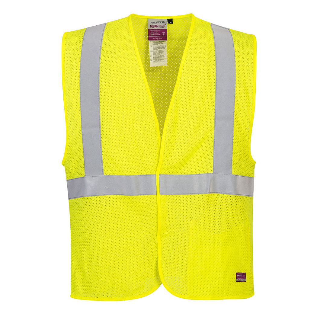Flame Resistant ARC Rated Mesh Safety Vest
