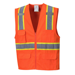 Class 2 Safety Vest with Cooling Mesh Back - Safety Vest Warehouse