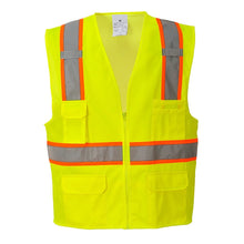 Load image into Gallery viewer, Class 2 Safety Vest with Cooling Mesh Back - Safety Vest Warehouse
