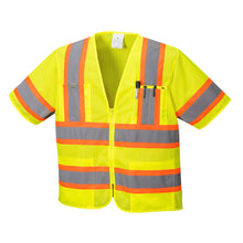 Load image into Gallery viewer, Class 3 Safety Vest Sleeved Hi-Vis with Pockets - Safety Vest Warehouse