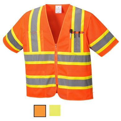 Class 3 Safety Vest Sleeved Hi-Vis with Pockets