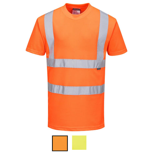 Hi Vis ANSI Class 2 Safety Shirt Available in 2 Colors!