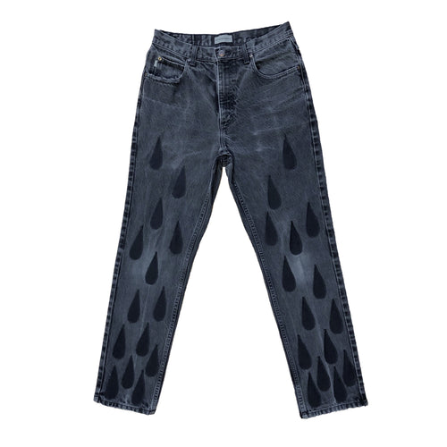 Black Drip Denim - [1 of 1]