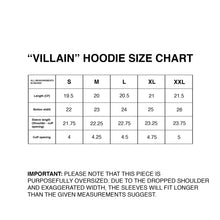 Load image into Gallery viewer, Villain Hoodie - [BLACK]
