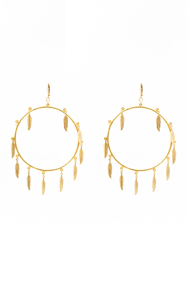 Cyrene Hoop Earrings