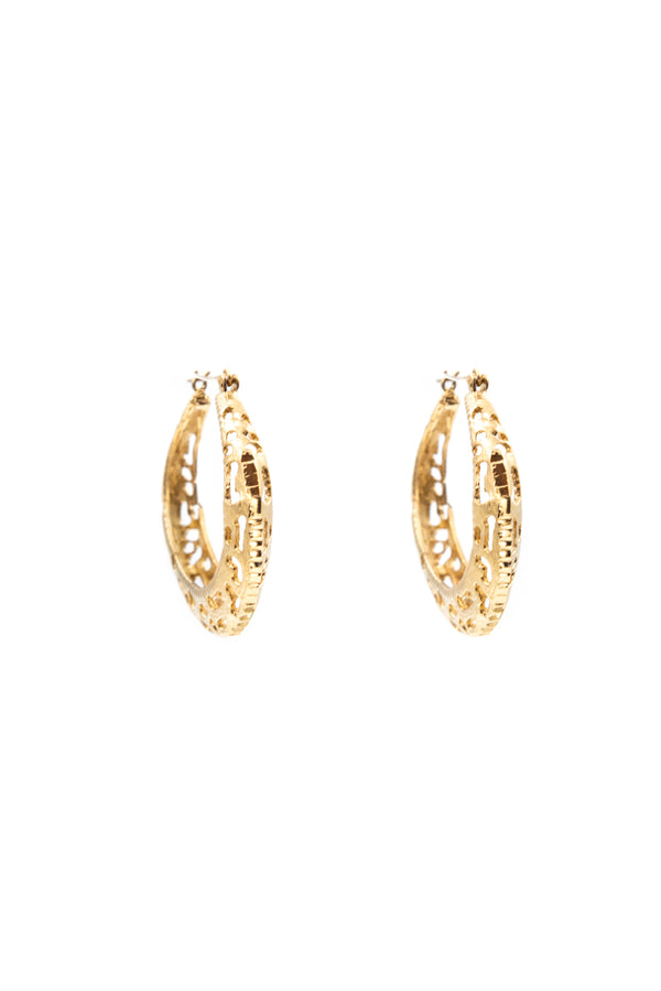 Sylvia Vintage Hoop Earrings