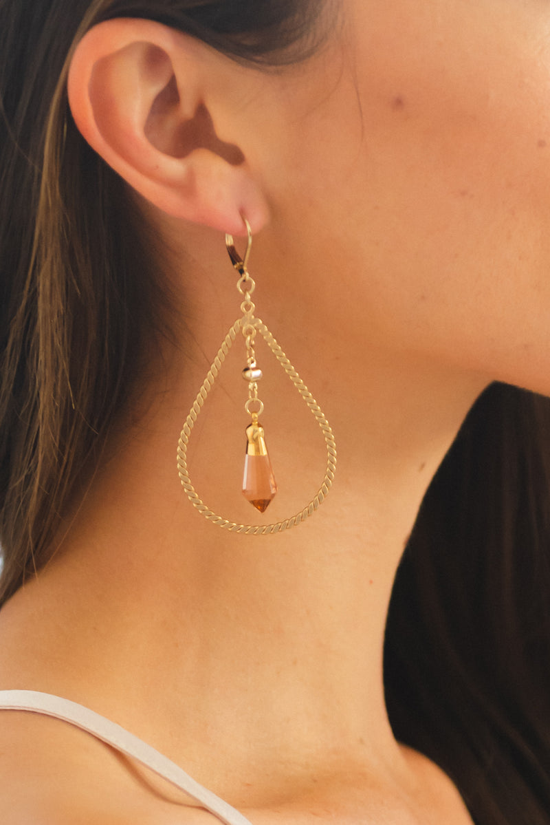 India Rose Earrings