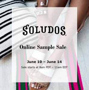 SOLUDOS SAMPLE SALE