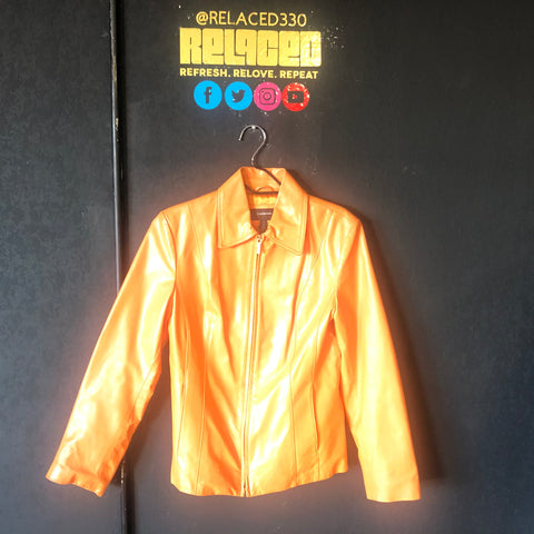 Orange Colebrook Jacket