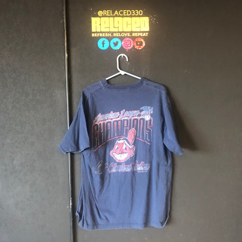 "Cleveland Indians Navy ""Champions"" Tee"