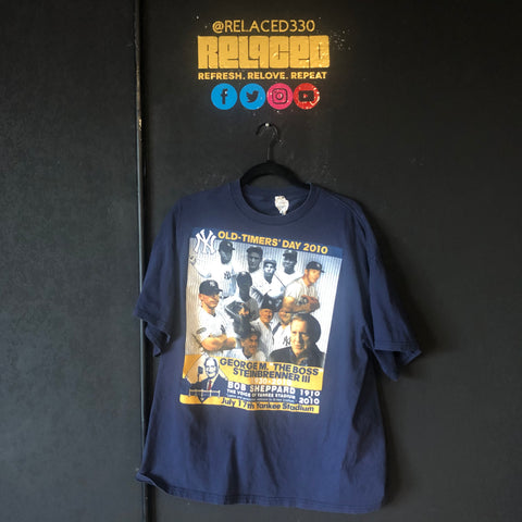 "Yankees ""Old Timers' Day 2010"" Tee"