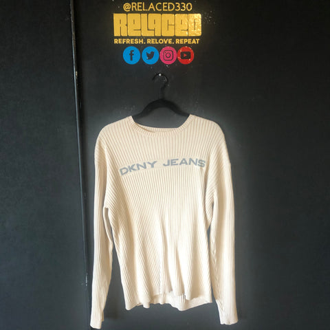 Cream DKNY Long Sleeve