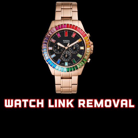 Watch Link Removal