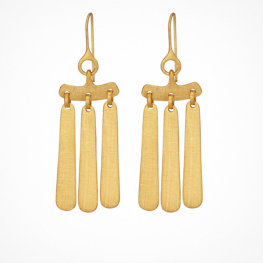 Aku Earrings Gold