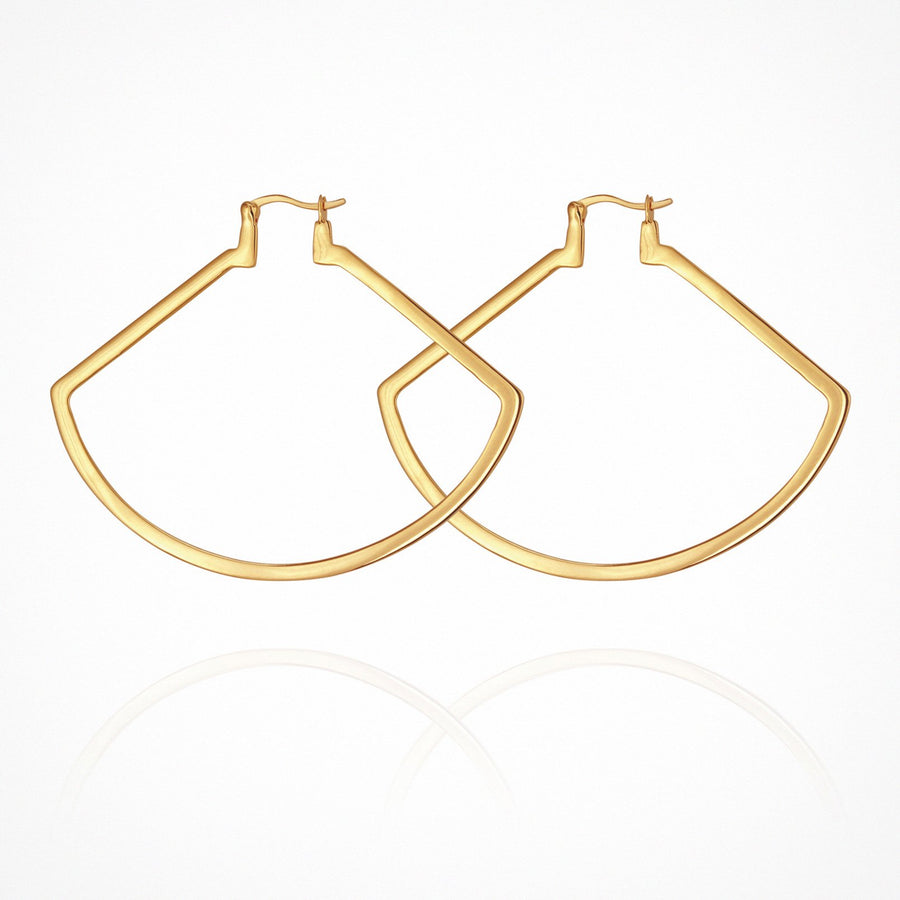 Aya Earrings Gold