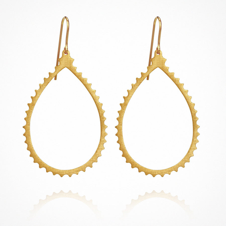 Cassandra Earrings Gold