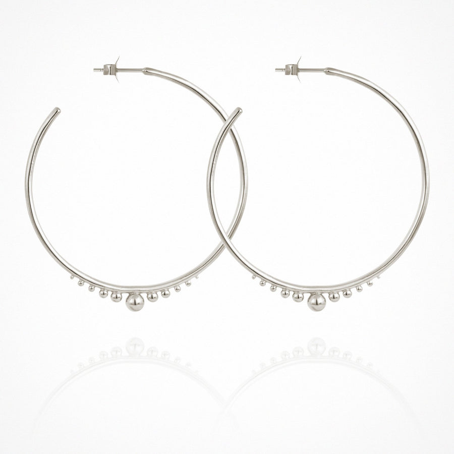 Diona Earrings Silver