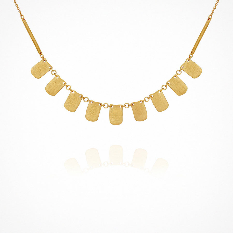 Elena Necklace Gold