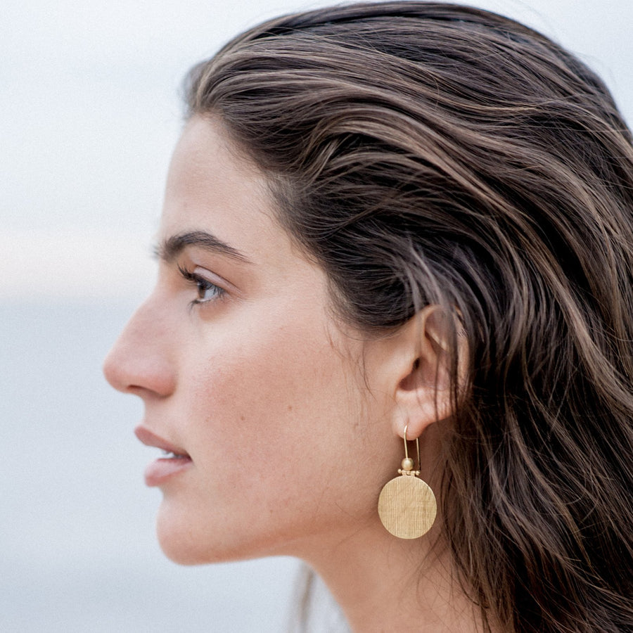 Rei Earrings Gold