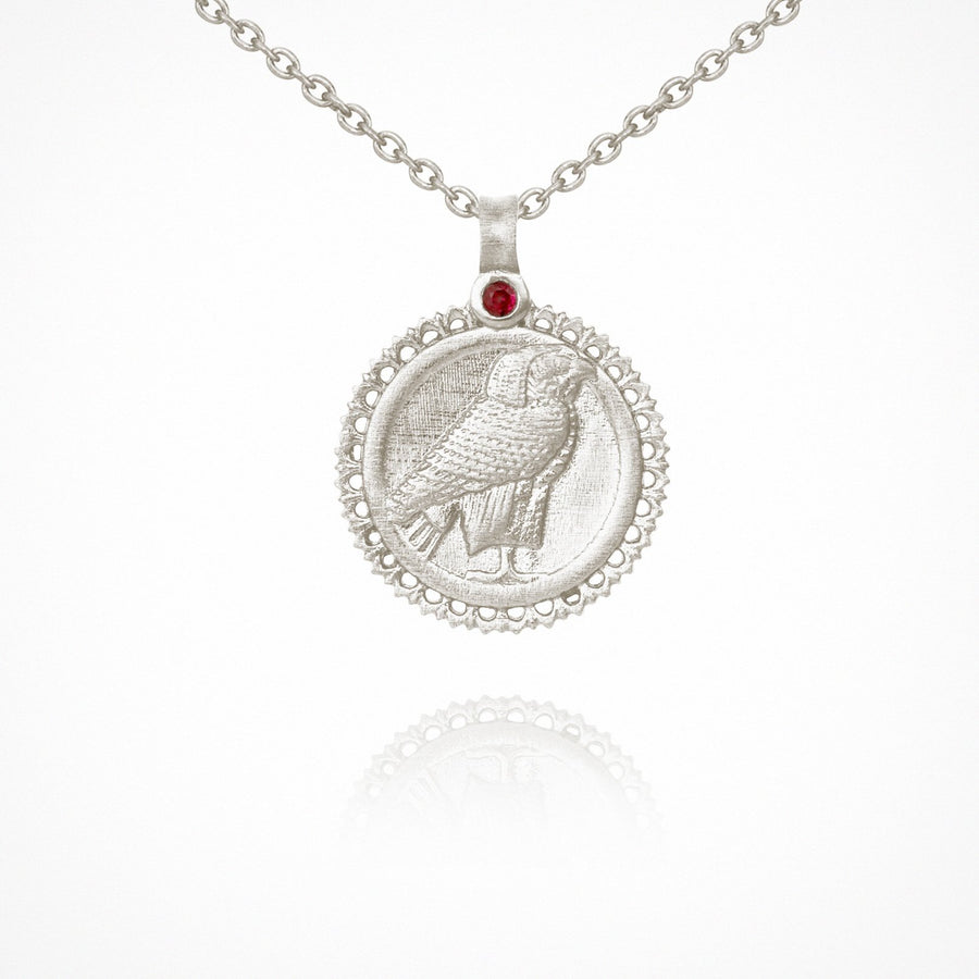 Horus Necklace Silver