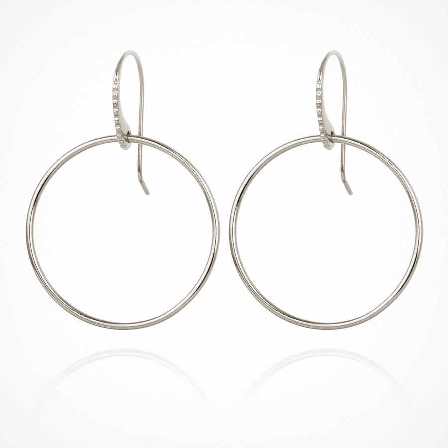 Hydra Earrings Silver