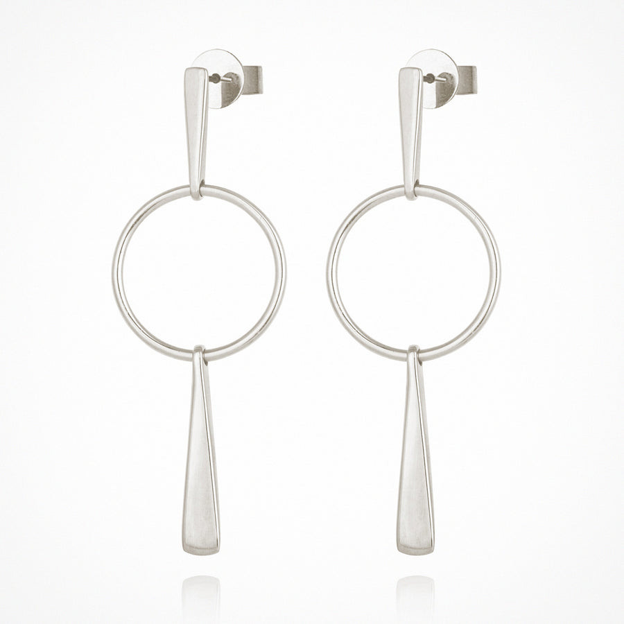 Iola Earrings Silver