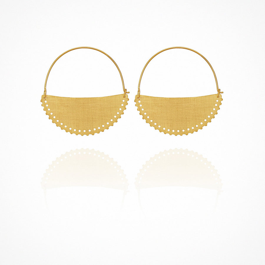 Klio Earrings Gold Small