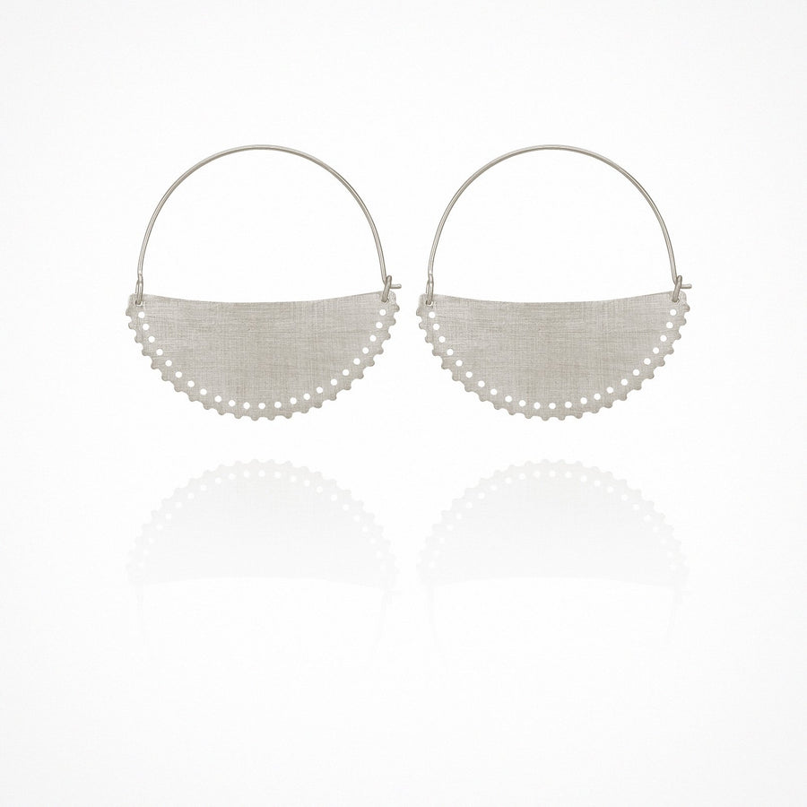 Klio Earrings Silver Small