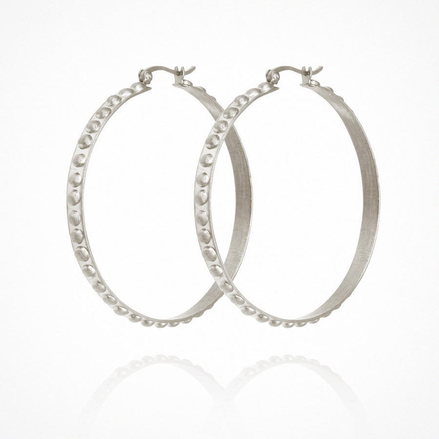 Marni Hoop Earrings Silver