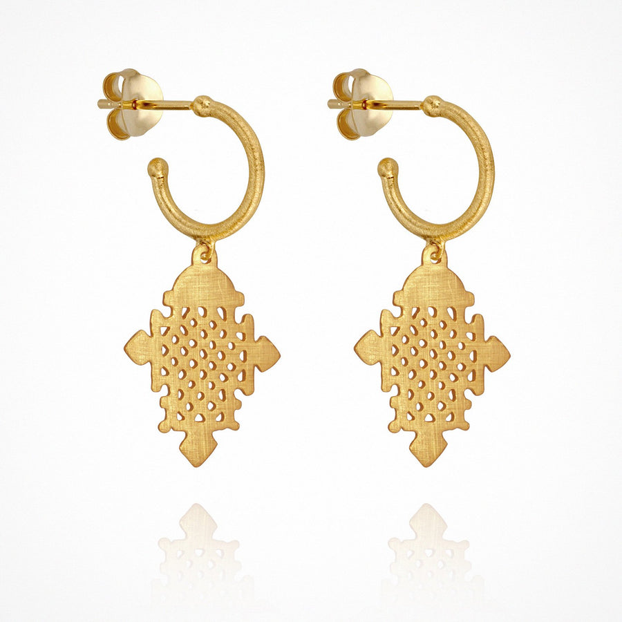 Silva Earrings Gold