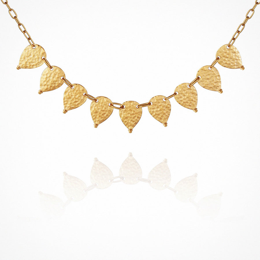 Tribal Necklace Gold