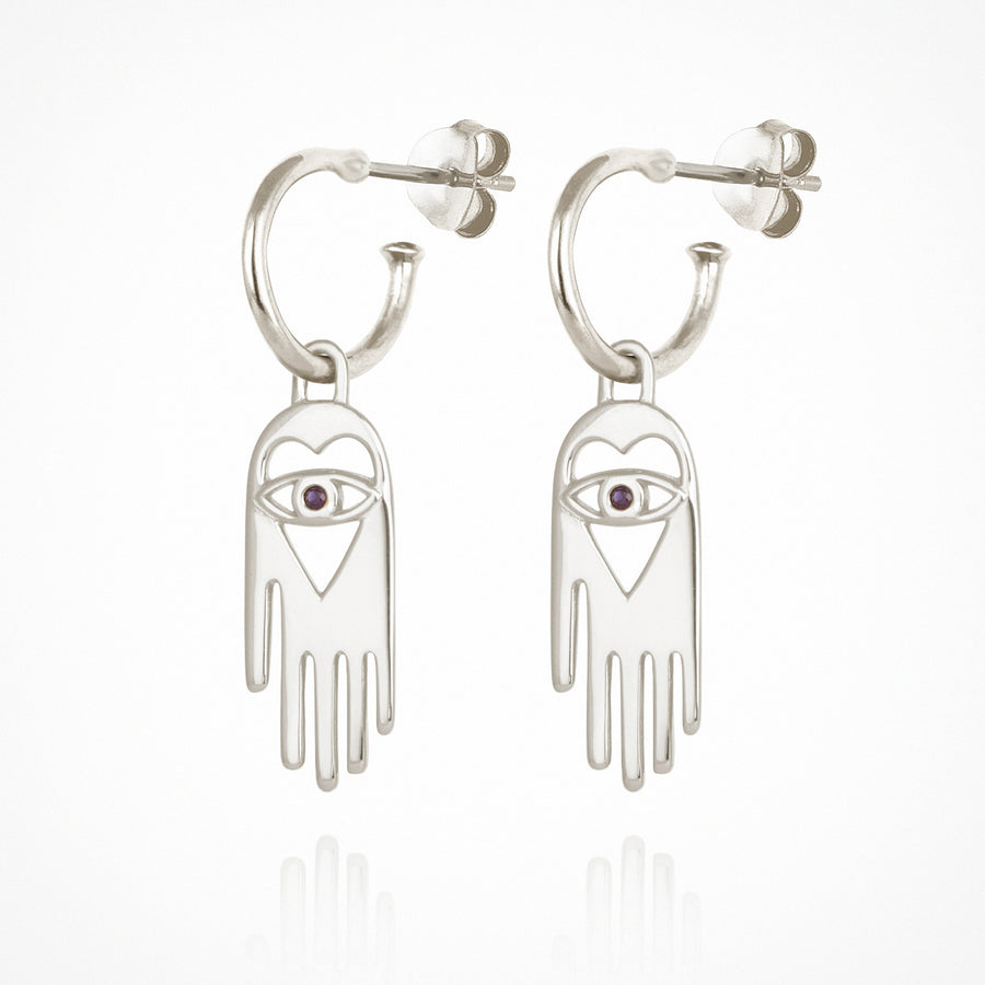 Tyas Earrings Silver