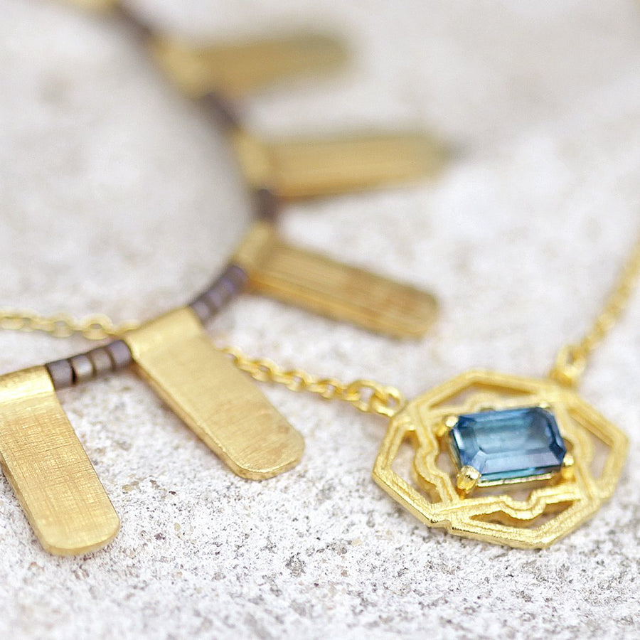 Marina Necklace Gold - Temple of the Sun Jewellery