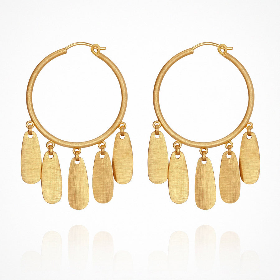 Zara Earrings Gold