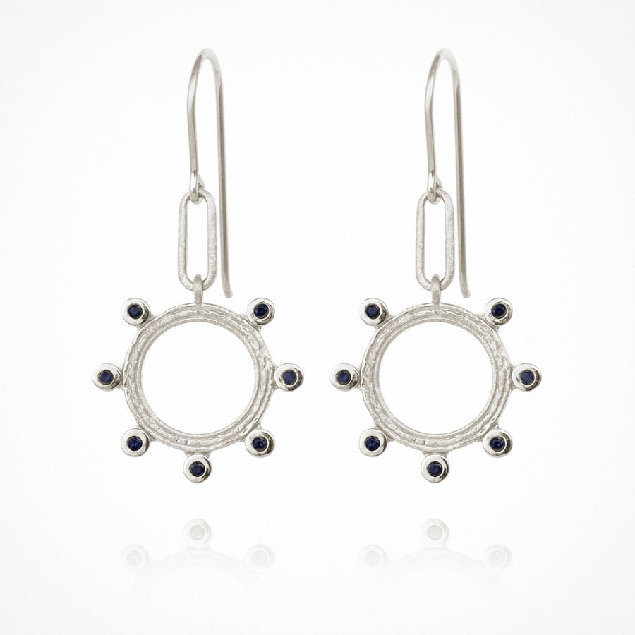 Zoe Earrings Silver