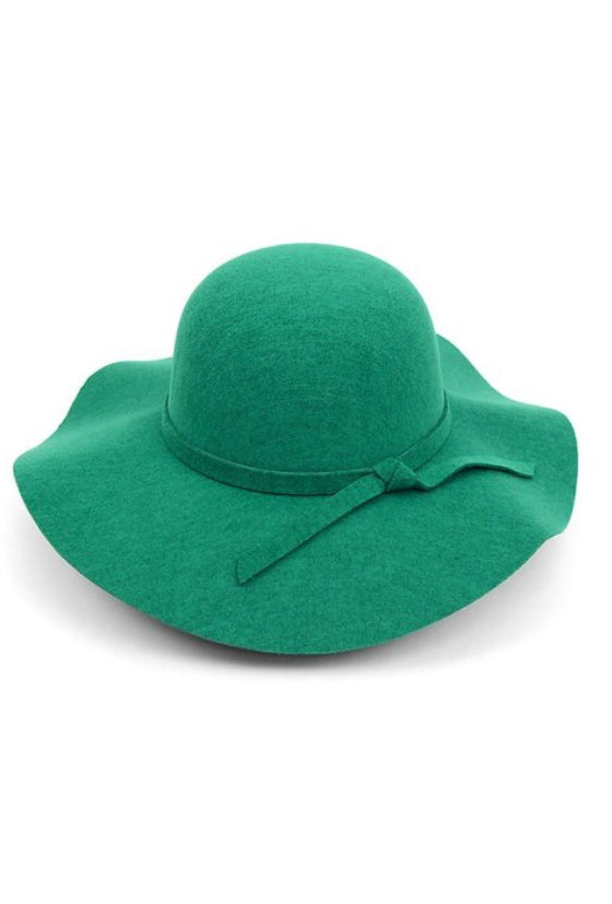 Fedora Hat-Teal