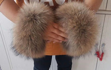 Load image into Gallery viewer, Real Fur Cuffs