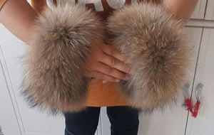 Real Fur Cuffs
