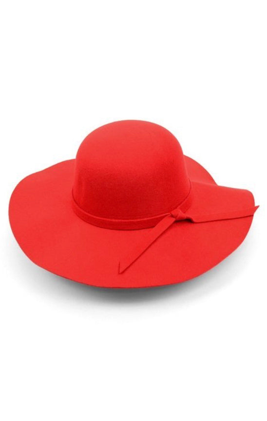 Fedora Hat-Red
