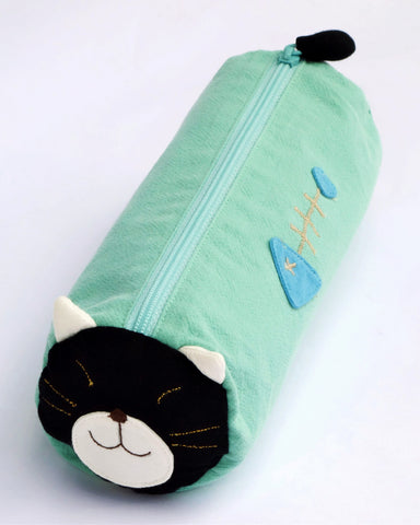 Lazy Log Pen Pouch (Sea Green)