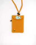 Little Helper ID Holder (Yellow)