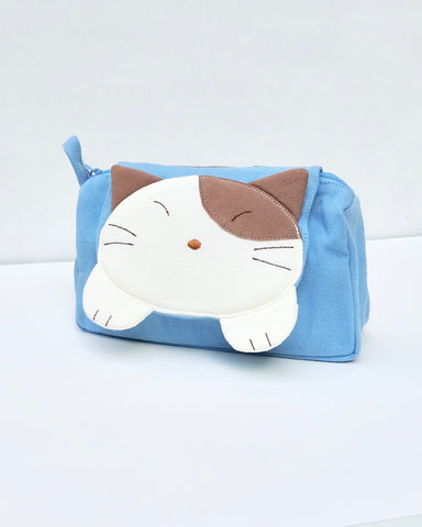 Makin' Muffins Cosmetic Pouch (Blue)