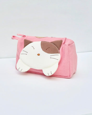 Makin' Muffins Cosmetic Pouch (Pink)
