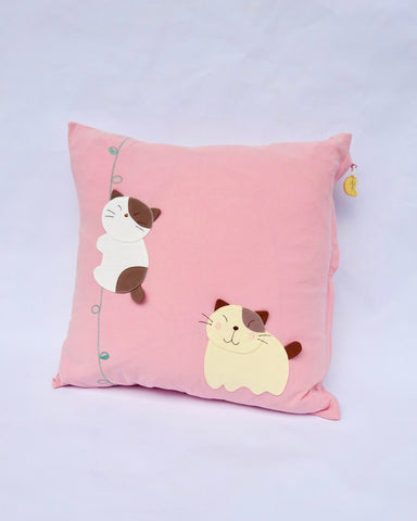 Jungle Cats Pillowcase (Pink)
