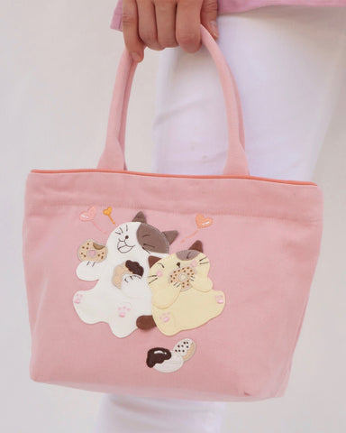 Lunch Friends Mini Tote (Pink)