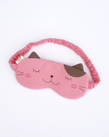 Sleep Tight Eye Mask (Light Pink)